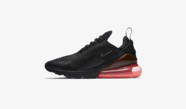 Nike Air Max 270 – Black / Hot Punch