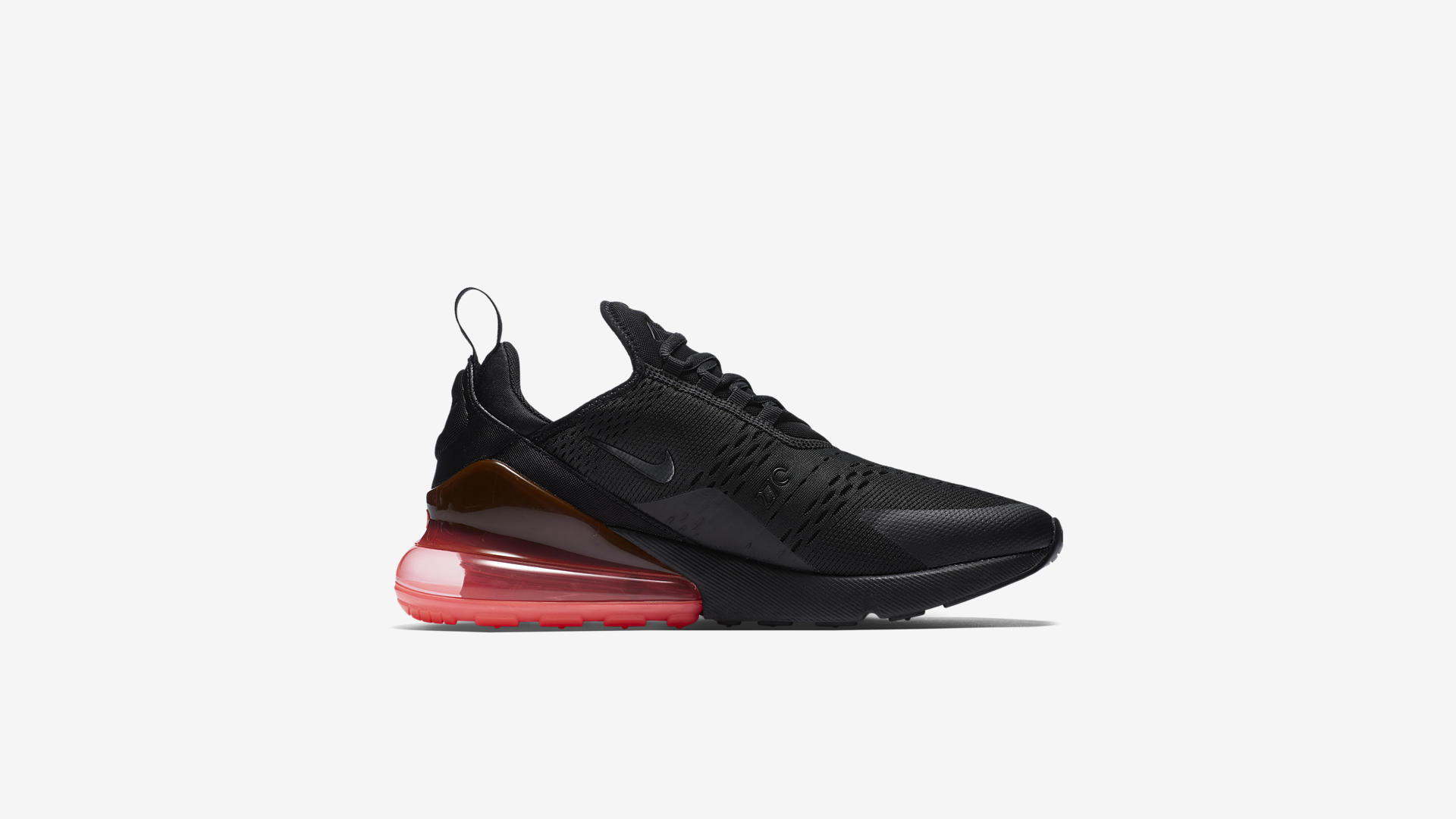 AH8050 010 Nike Air Max 270 Black Hot Punch 4