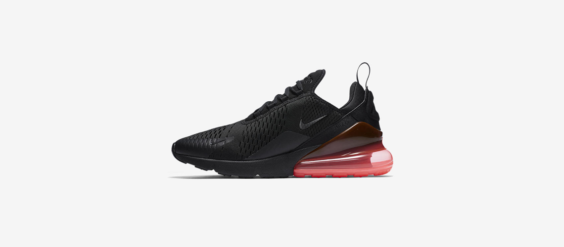AH8050 010 Nike Air Max 270 Black Hot Punch