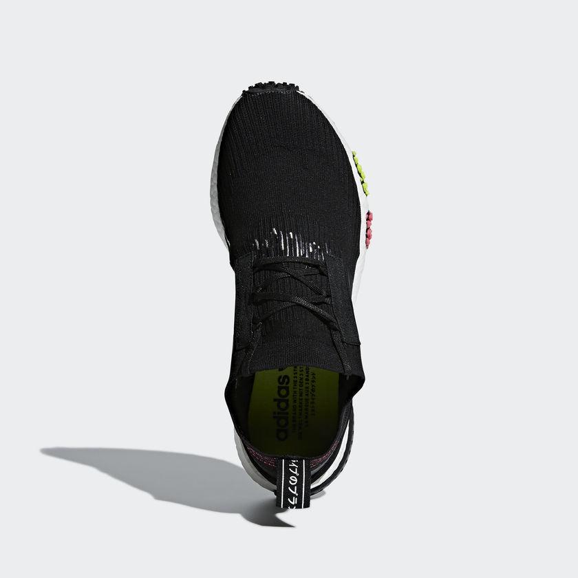CQ2441 adidas NMD Racer Primeknit Core Black 1