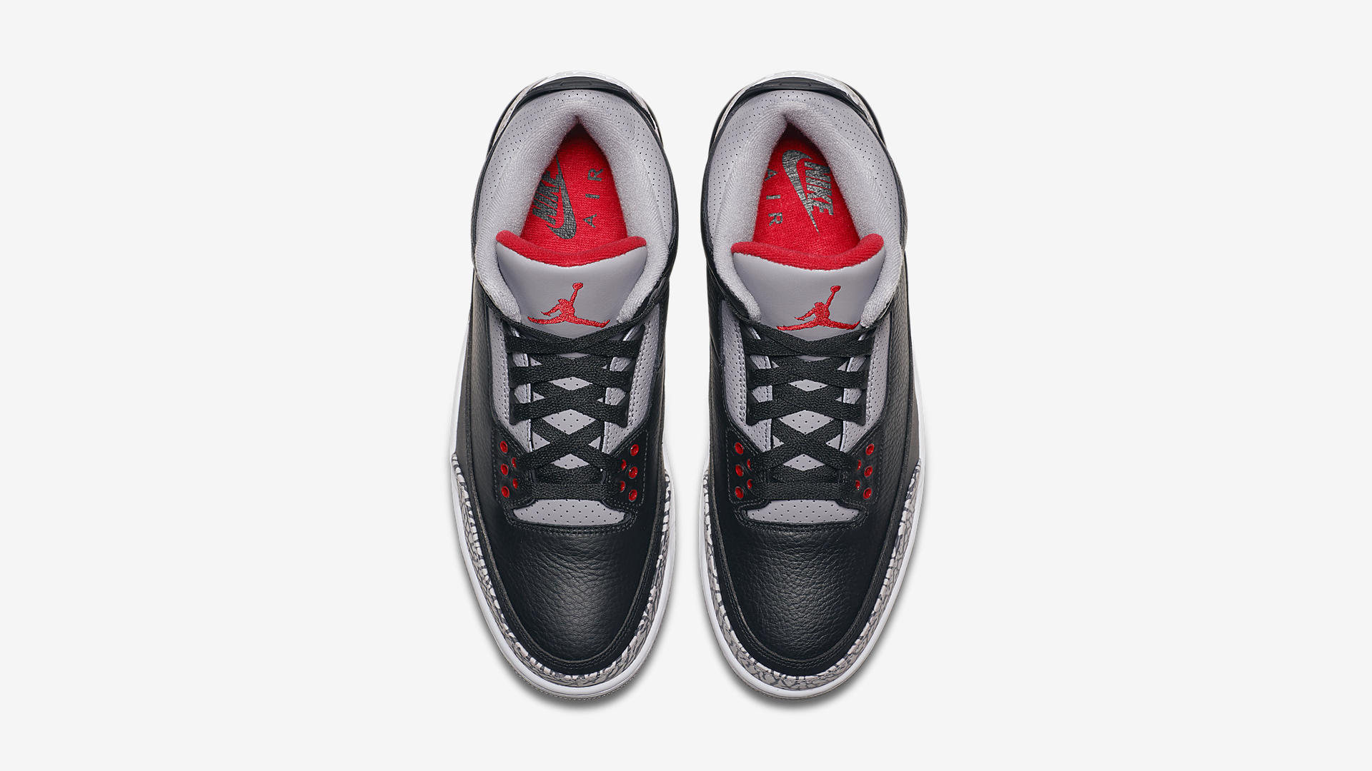 854262 001 Air Jordan 3 Black Cement 2