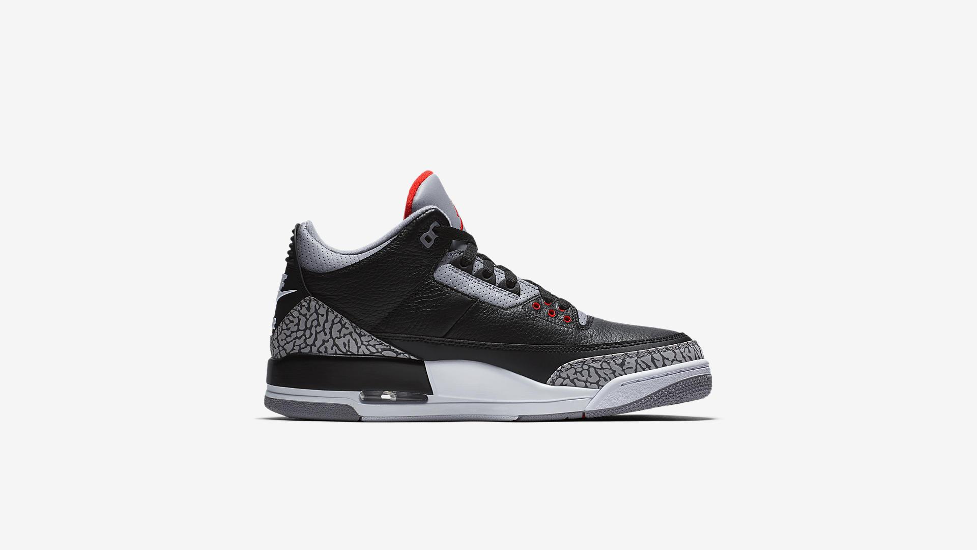 854262 001 Air Jordan 3 Black Cement 3