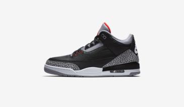 Air Jordan 3 – Black Cement