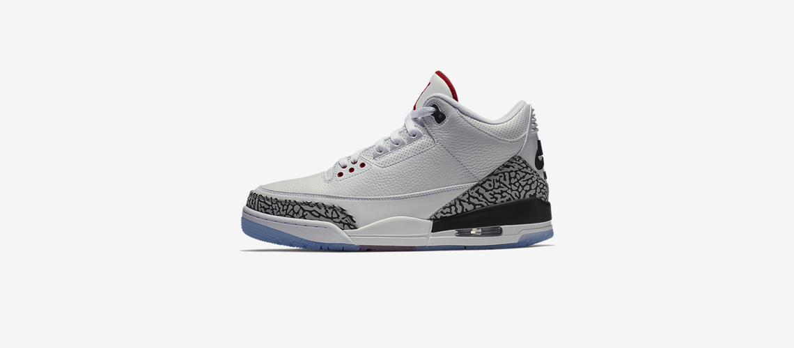 923096 101 Air Jordan 3 Free Throw Line