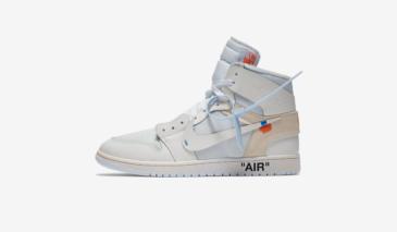 Off White x Air Jordan 1 – White