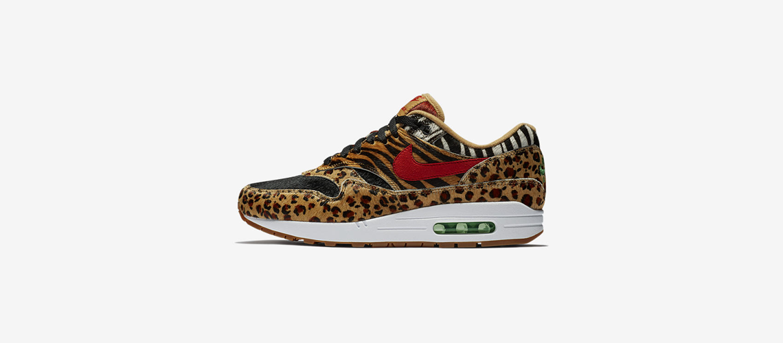 AQ0928 700 atmos x Nike Air Max 1 Animal Pack 2018