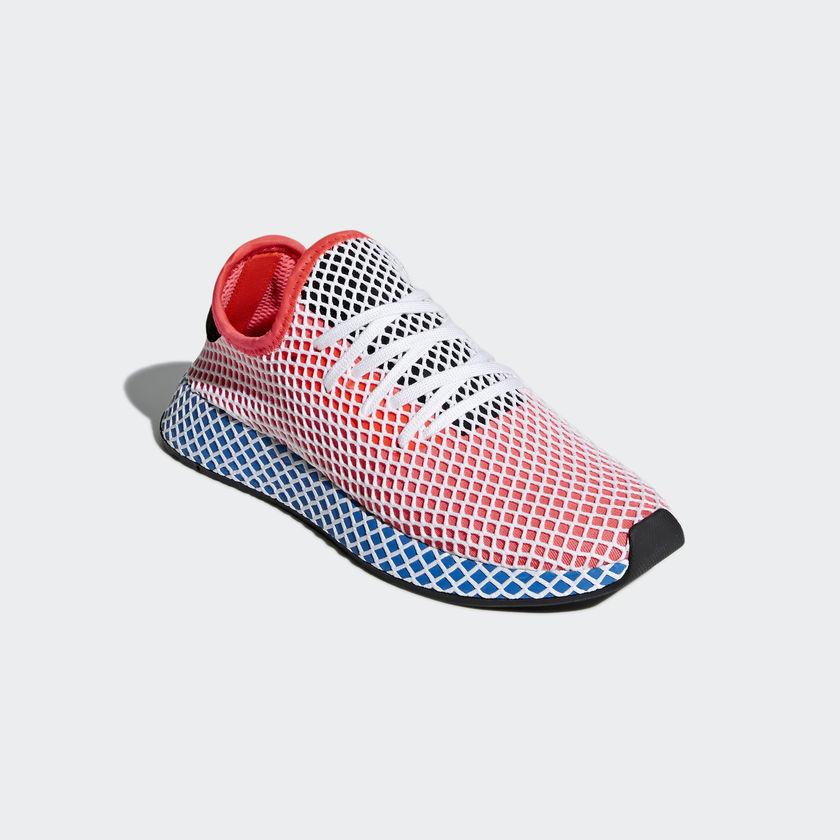 CQ2624 adidas Deerupt Runner Solar Red 4