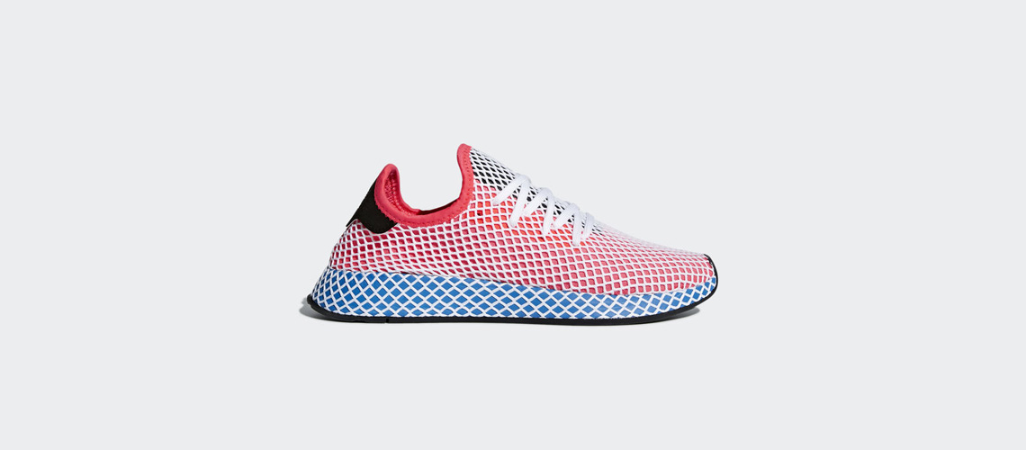 CQ2624 adidas Deerupt Runner Solar Red