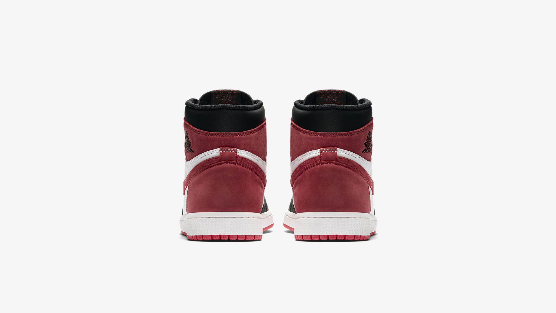 555088 112 Air Jordan 1 Track Red 1