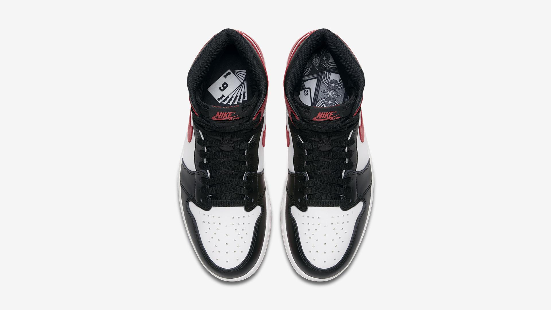 555088 112 Air Jordan 1 Track Red 2