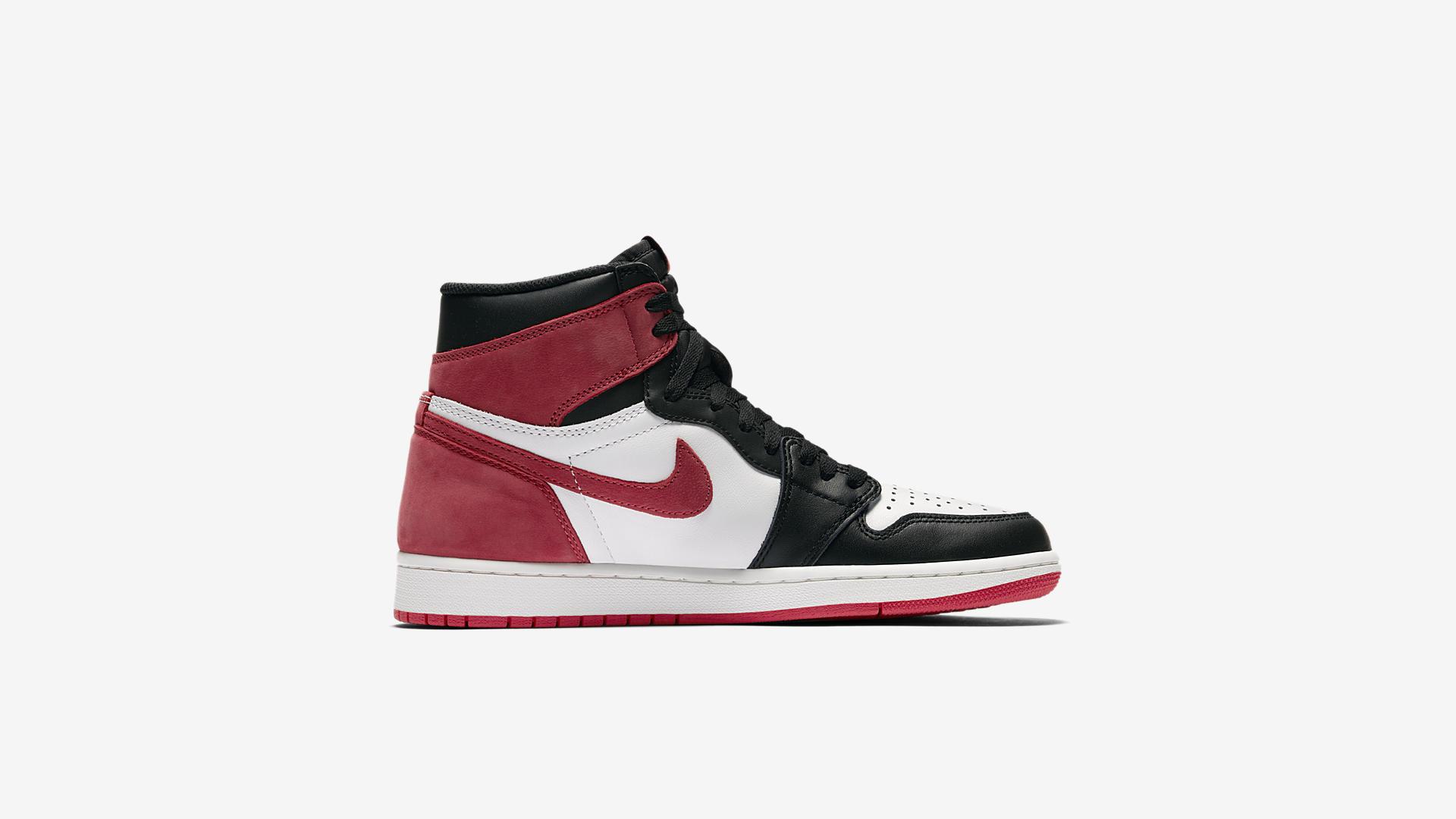 555088 112 Air Jordan 1 Track Red 3