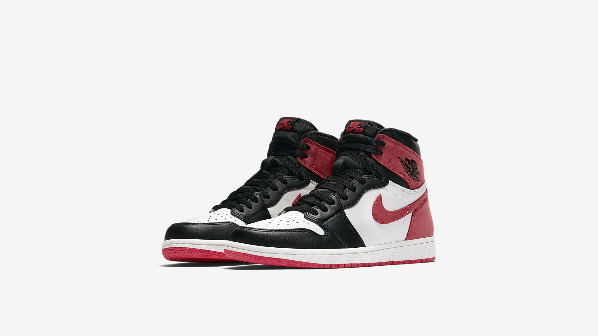 555088 112 Air Jordan 1 Track Red 5