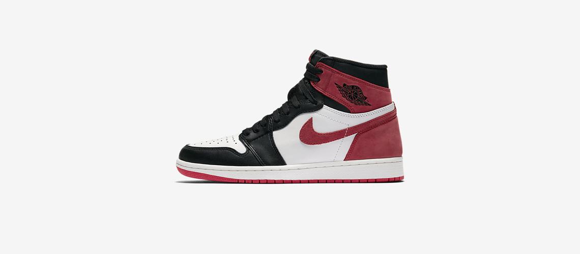 555088 112 Air Jordan 1 Track Red