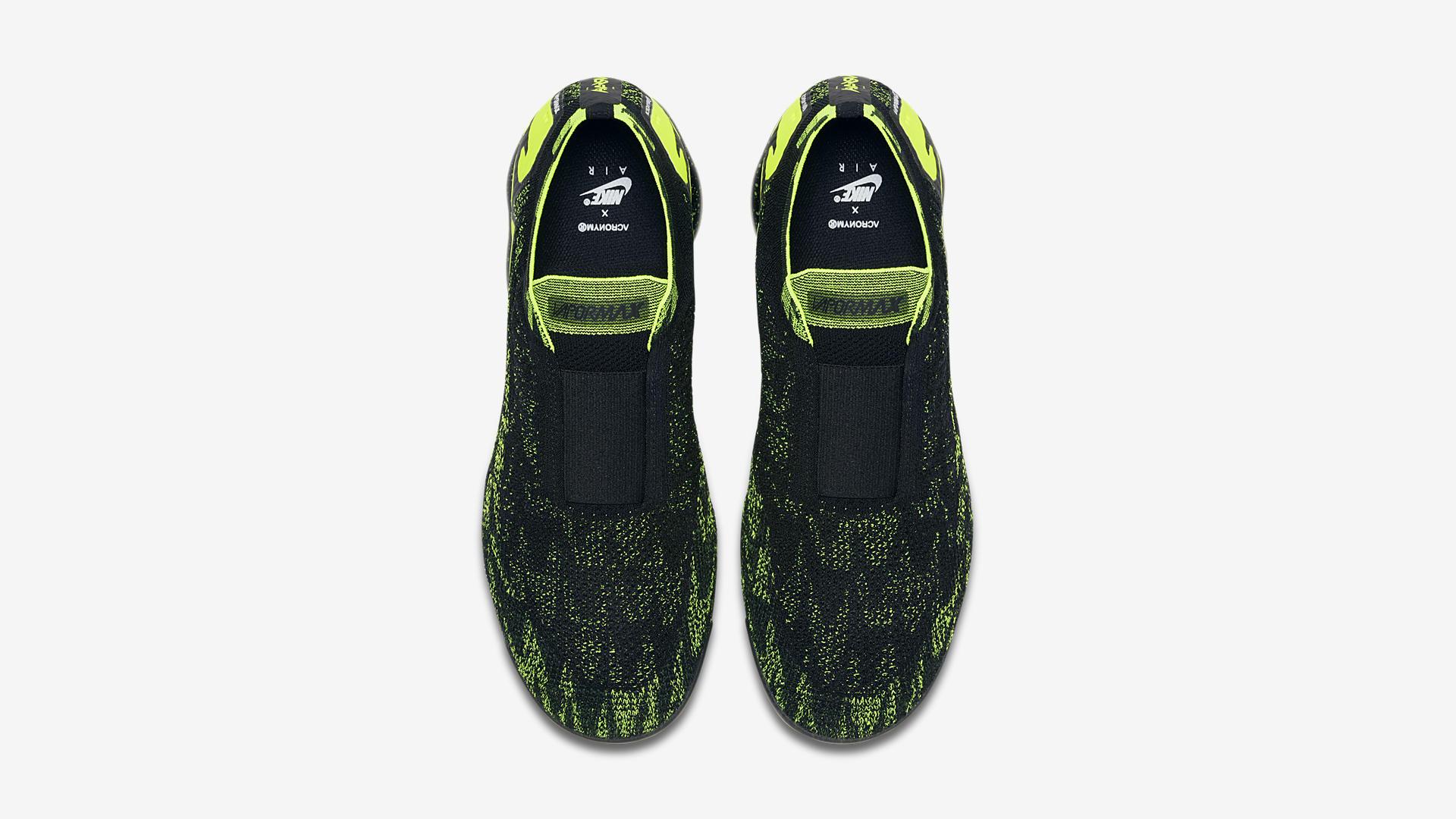AQ0996 007 ACRONYM x Nike Air Vapormax Moc 2 Black Volt 2