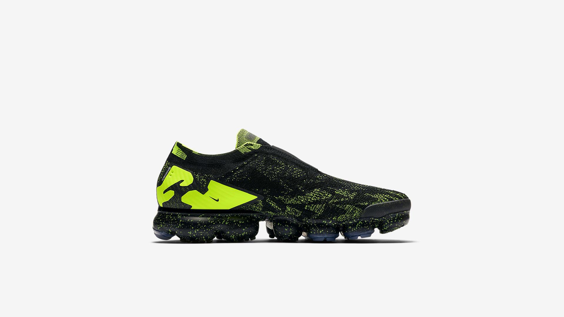 AQ0996 007 ACRONYM x Nike Air Vapormax Moc 2 Black Volt 3