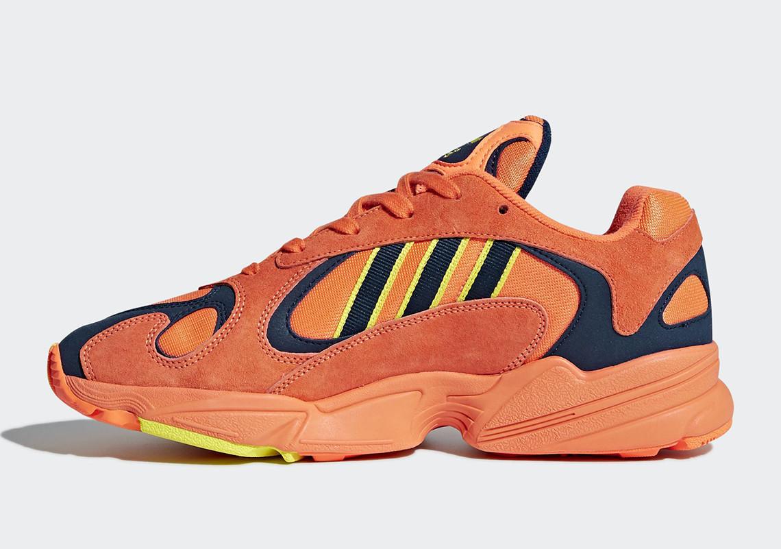 B37613 adidas Yung 1 Hi Res Orange 1