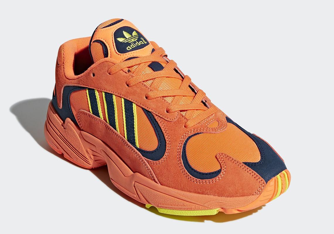 B37613 adidas Yung 1 Hi Res Orange 2