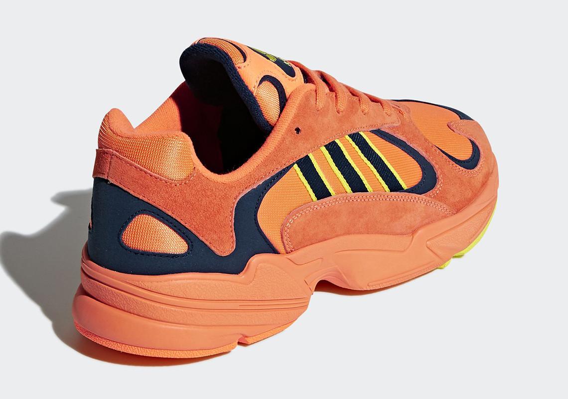 B37613 adidas Yung 1 Hi Res Orange 3