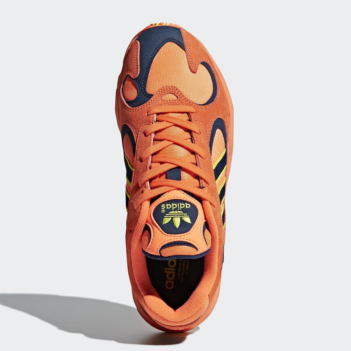 B37613 adidas Yung 1 Hi Res Orange 4