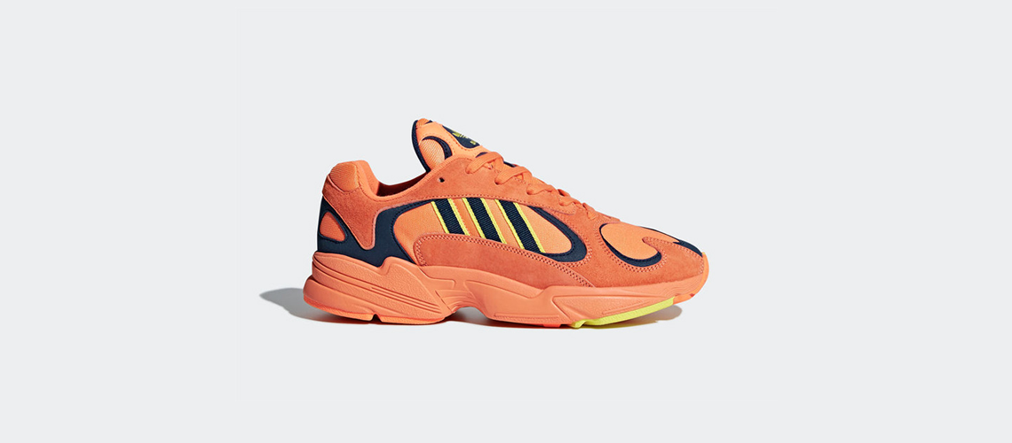 B37613 adidas Yung 1 Hi Res Orange