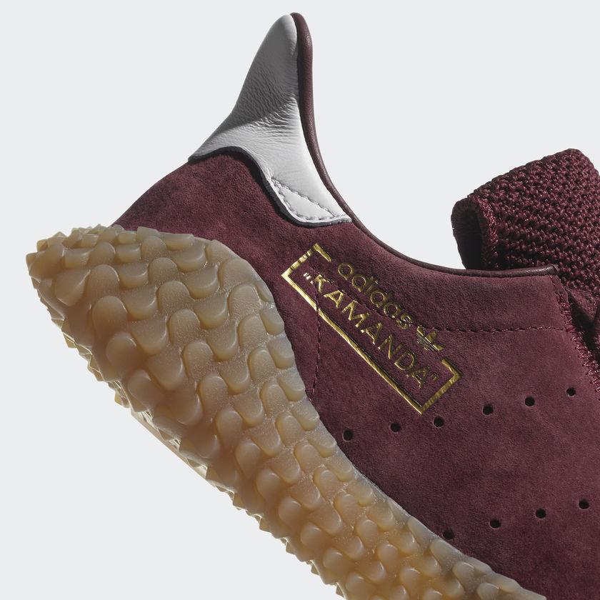 CQ2219 adidas Kamanda Burgundy 7