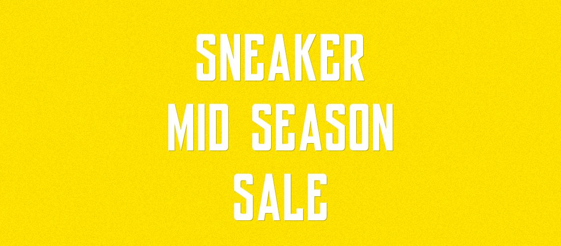 Sneaker Mid Season Sale 2018