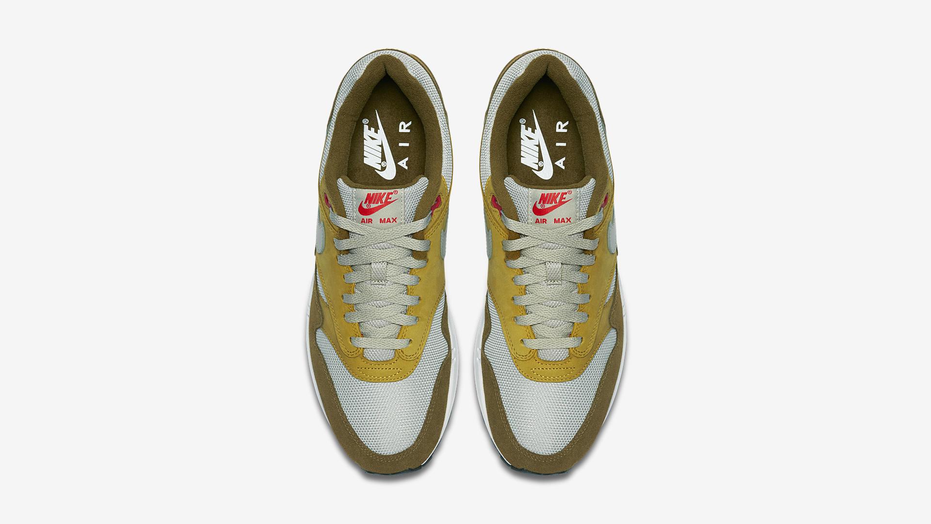908366 300 Nike Air Max 1 Green Curry 2