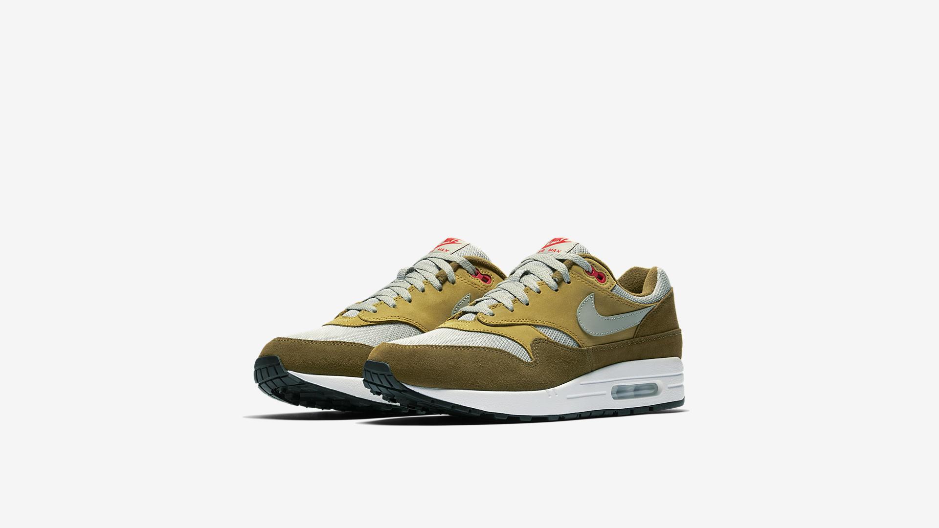 908366 300 Nike Air Max 1 Green Curry 4