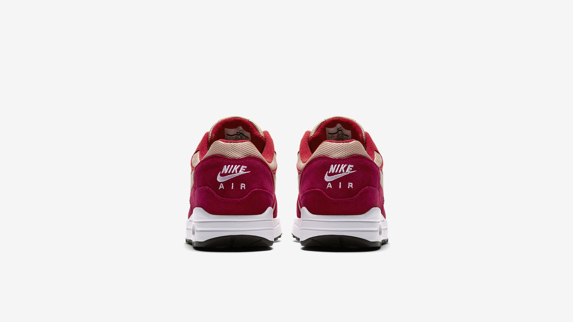 908366 600 Nike Air Max 1 Red Curry 1