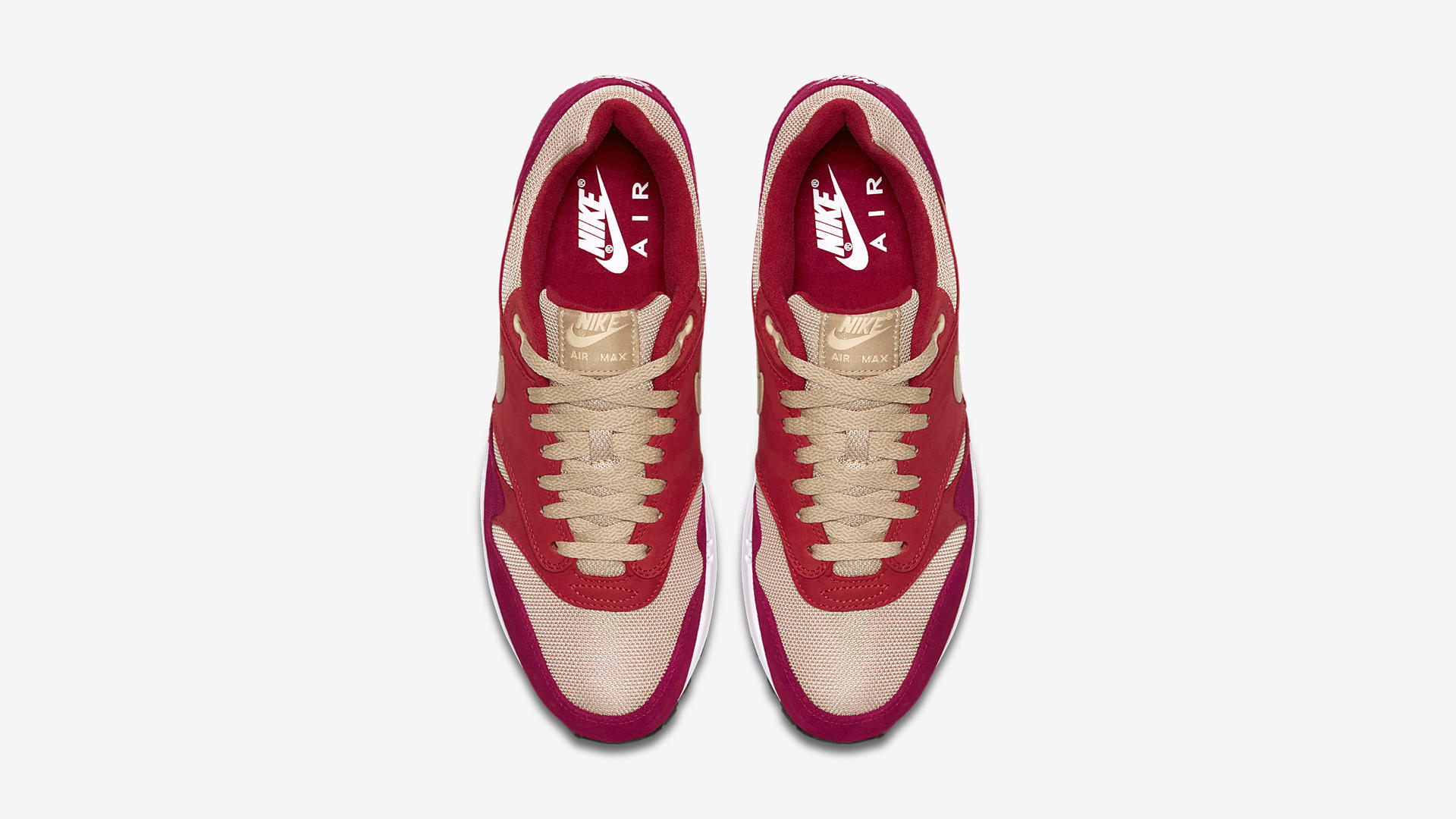 908366 600 Nike Air Max 1 Red Curry 2