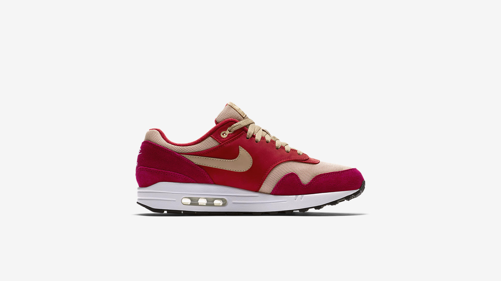 908366 600 Nike Air Max 1 Red Curry 3