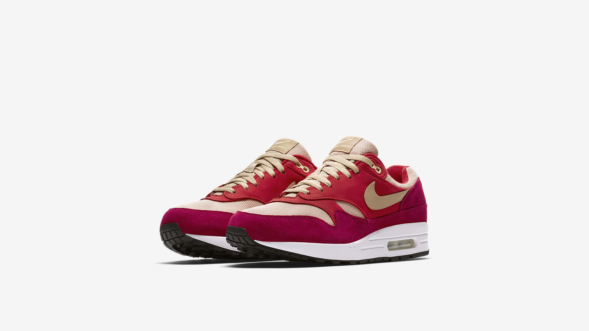 908366 600 Nike Air Max 1 Red Curry 4