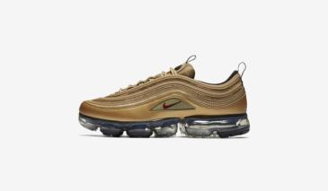 Nike Air Vapormax 97 – Gold