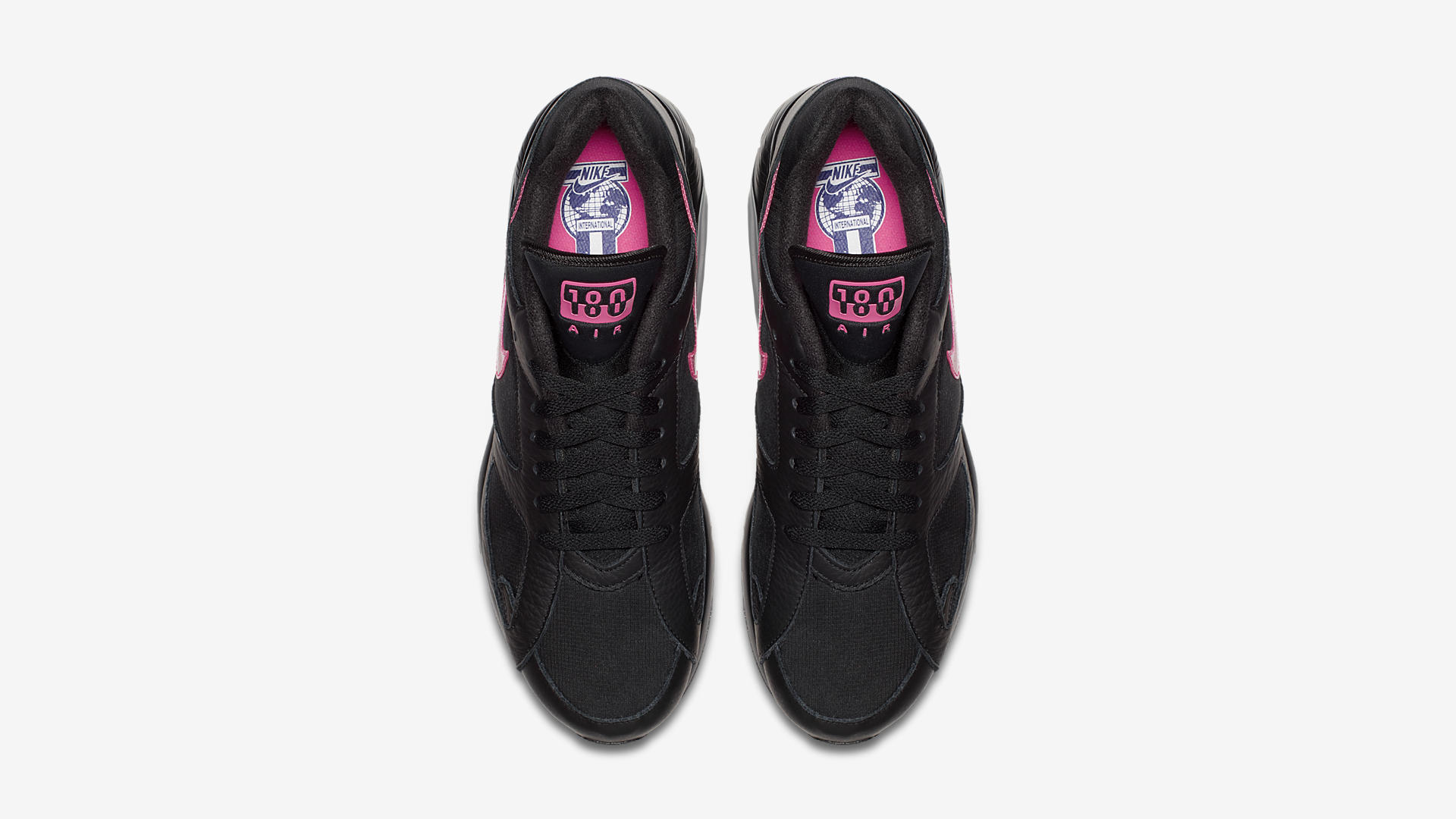AQ9974 001 Nike Air Max 180 Black Pink Blast 3