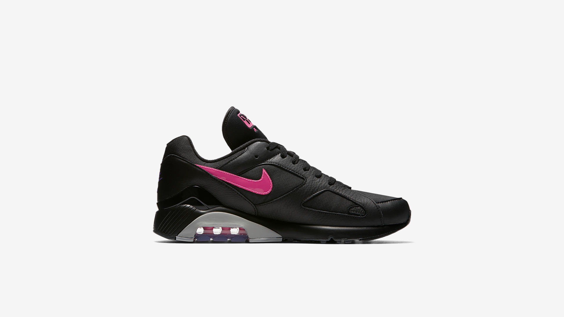 AQ9974 001 Nike Air Max 180 Black Pink Blast 4