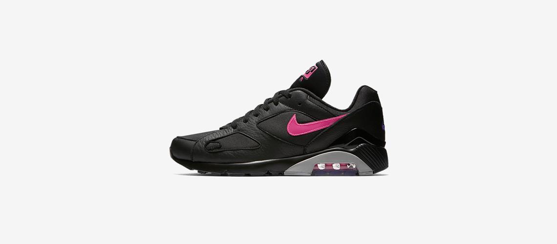 AQ9974 001 Nike Air Max 180 Black Pink Blast