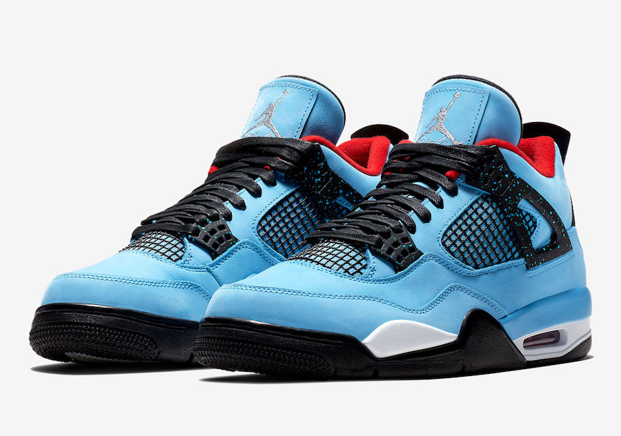 308497 406 Travis Scott x Air Jordan IV Houston Oilers 1