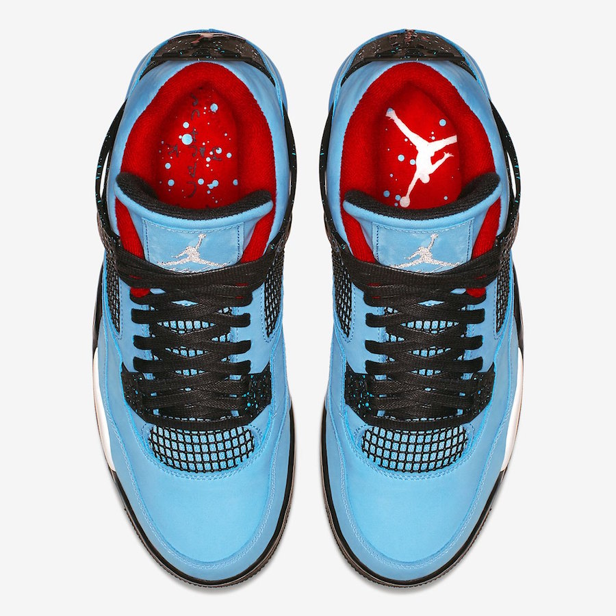 308497 406 Travis Scott x Air Jordan IV Houston Oilers 3