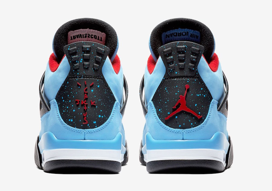 308497 406 Travis Scott x Air Jordan IV Houston Oilers 4