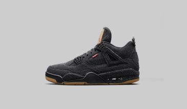 Levi's x Air Jordan 4 – Black Denim
