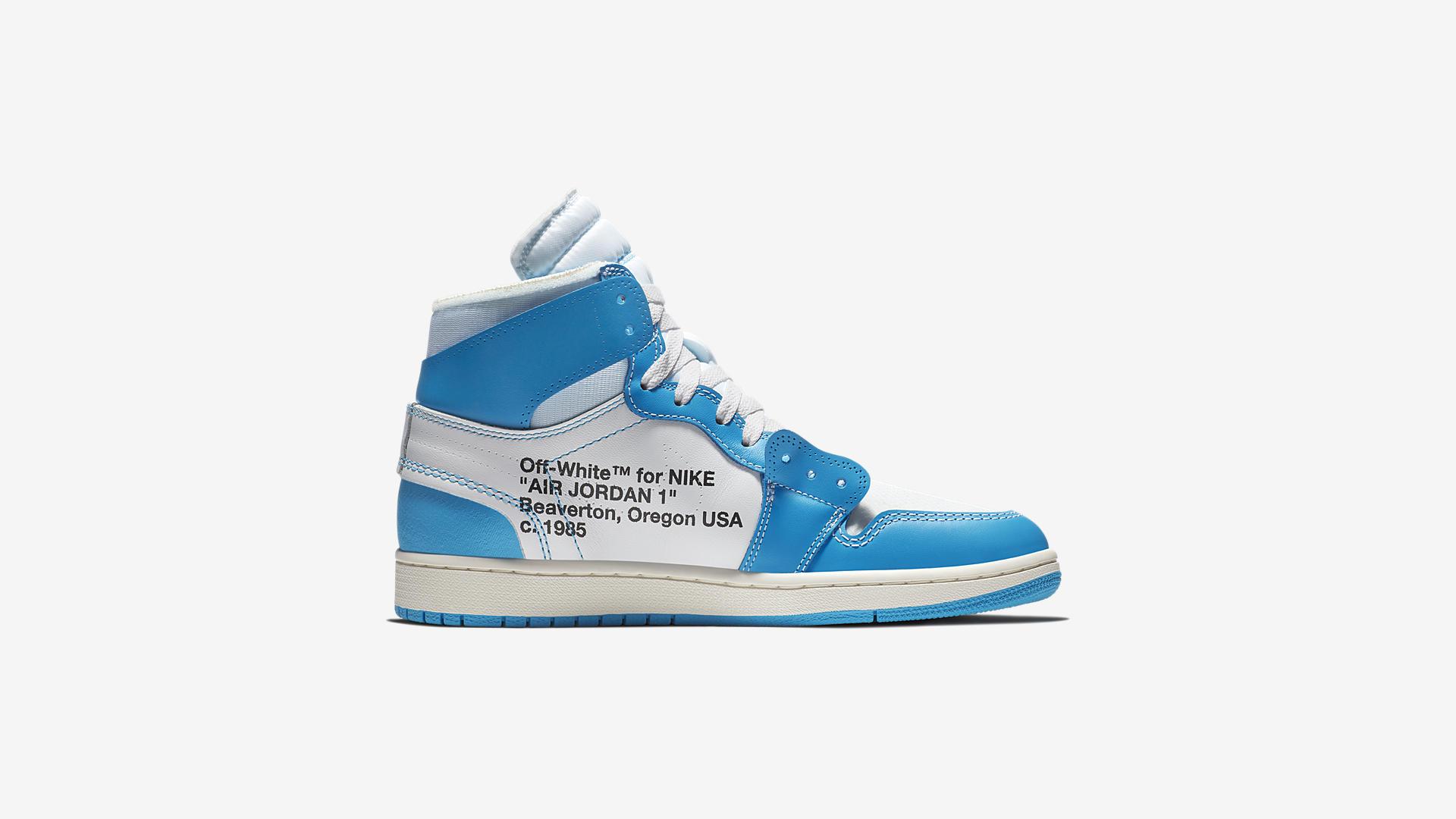 AQ0818 148 Off White x Air Jordan 1 Blue 3