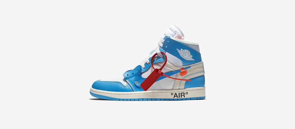 AQ0818 148 Off White x Air Jordan 1 Blue