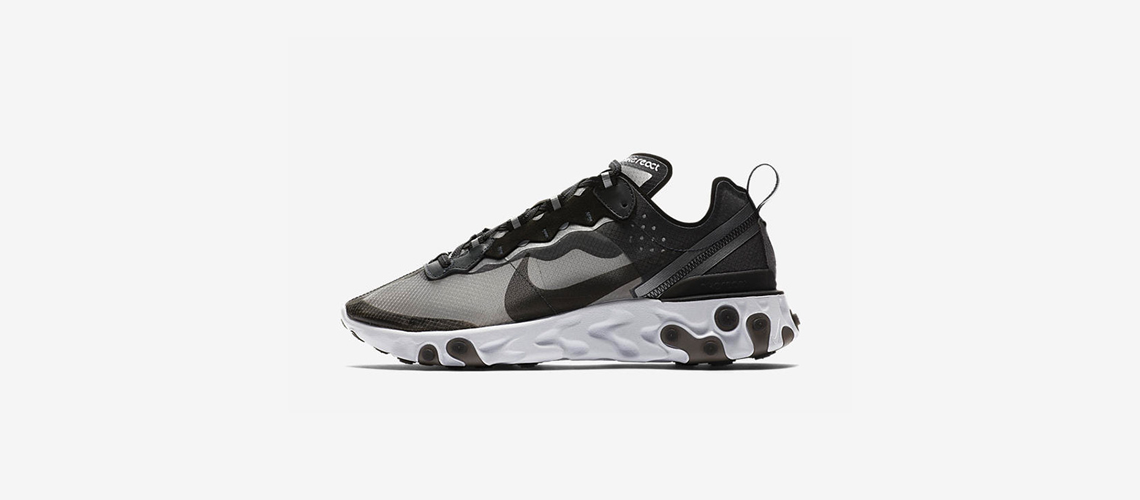 AQ1090 001 Nike React Element 87 Anthracite