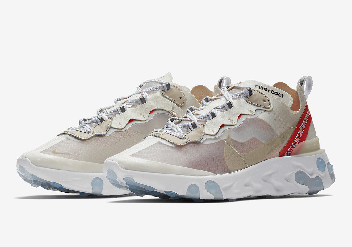 AQ1090 100 Nike React Element 87 Sail 1