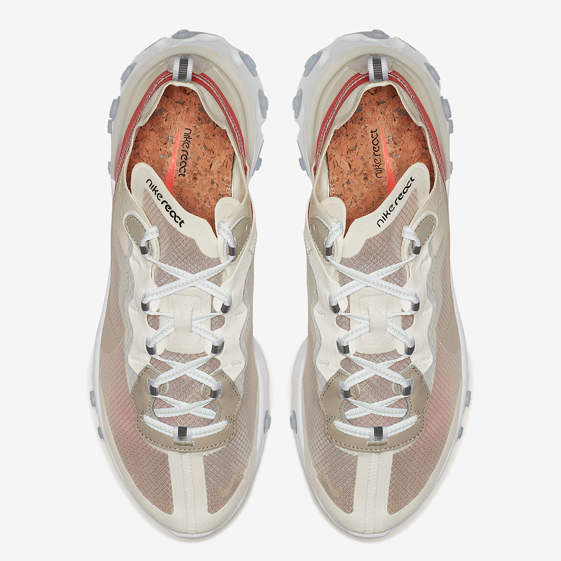 AQ1090 100 Nike React Element 87 Sail 3