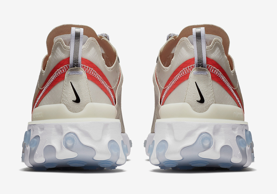 AQ1090 100 Nike React Element 87 Sail 4