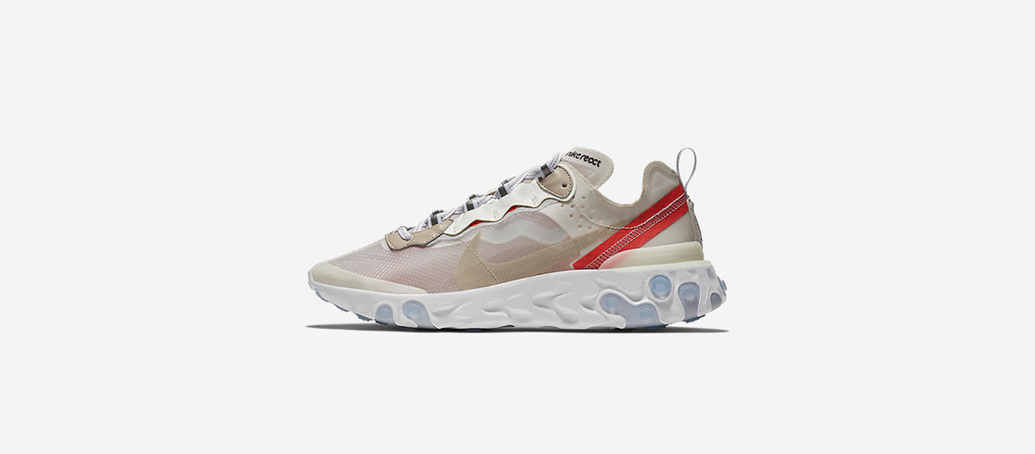 AQ1090 100 Nike React Element 87 Sail
