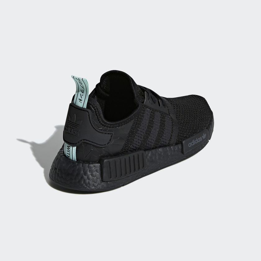 AQ1102 adidas NMD R1 Black Mint 3