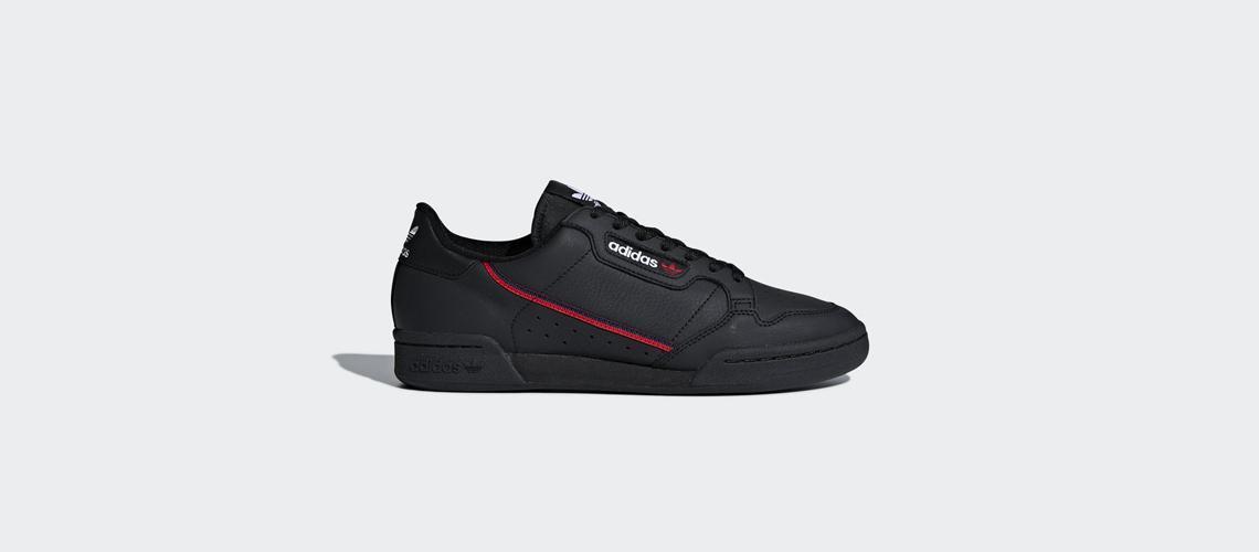B41672 adidas Continental 80 Black