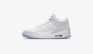 Air Jordan 3 – Pure White